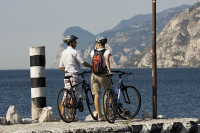mountain bike lago di garda